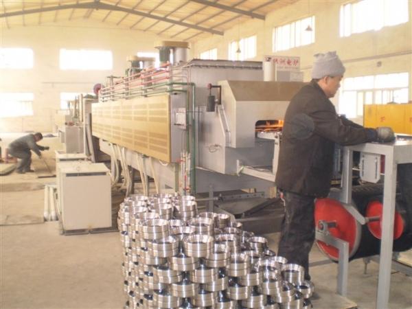 轴承套圈在网带炉热处理后产生维度变形分析